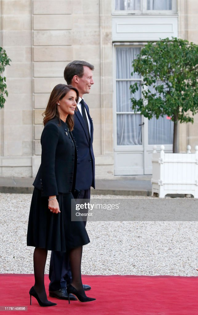 French President Emmanuel Macron Hosts Lunch For Head Of States As A Tribute To Jacques Chirac : News Photo
