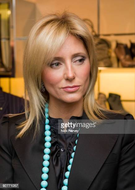 Princess Marie Chantal of Greece attends the launch reception of The Italian Touch on November 4 2009 in London England
