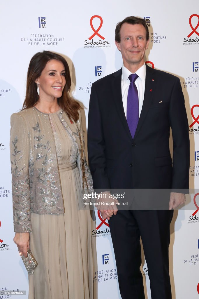 Sidaction Gala Dinner 2020 At Pavillon Cambon In Paris : News Photo