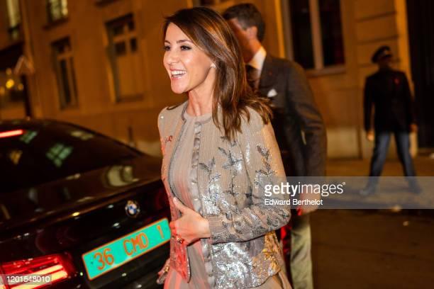 Princess Marie of Danemark arrives at Sidaction Gala Dinner 2020 At Pavillon Cambon on January 23 2020 in Paris France