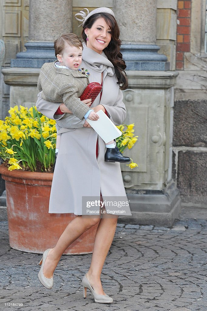Christening Of The Danish Royal Twins, Prince Vincent and Princess Josephine : News Photo