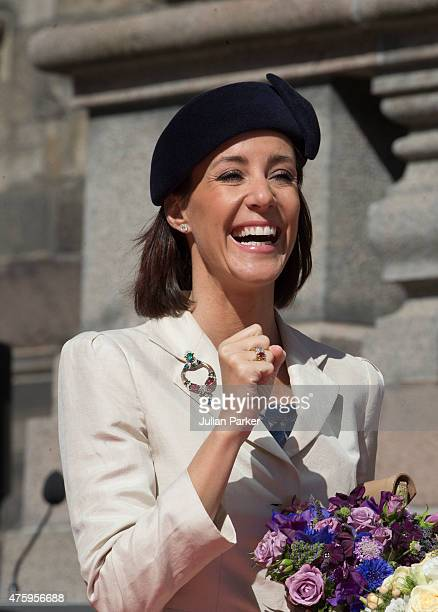 Princess Marie of Denmark at Christiansborg Palace on the occasion of The 100th Anniversary of The 1915 Danish Constitution on June 5th 2015 in...