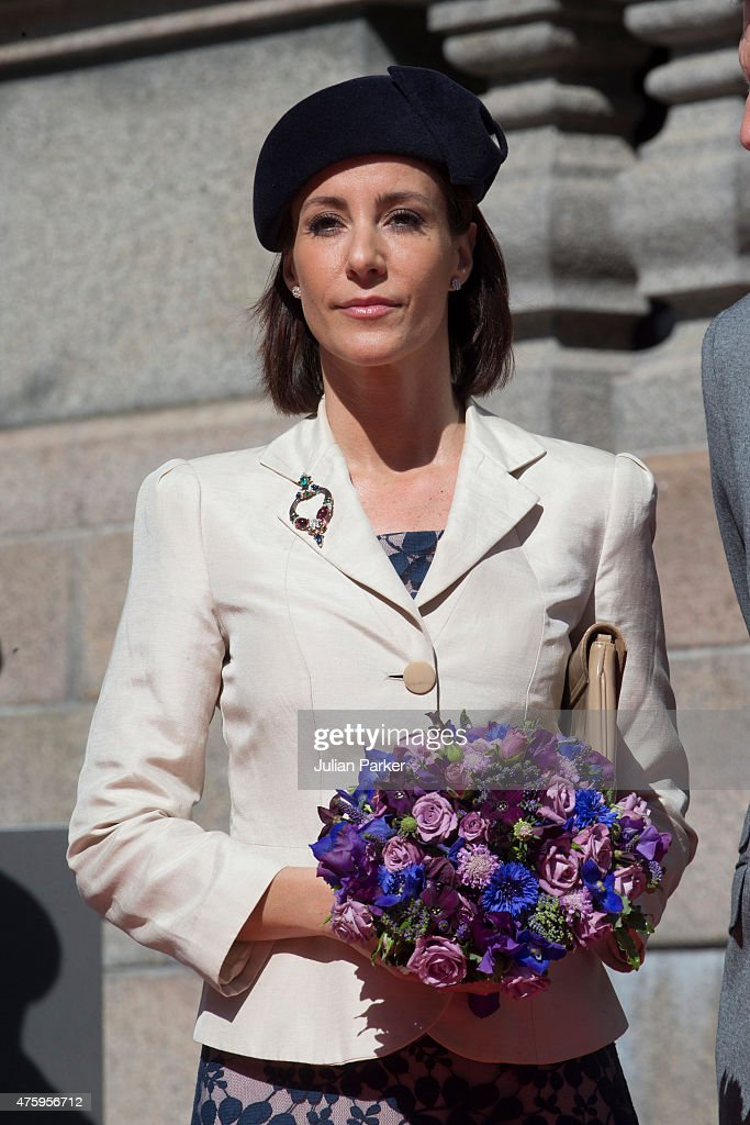Princess Marie of Denmark at Christiansborg Palace on the occasion of The 100th Anniversary of The 1915 Danish Constitution, on June 5th, 2015 in Copenhagen, Denmark