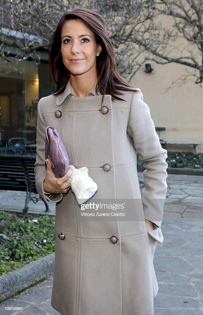 Princess Marie of Denmark Visits Florence : News Photo