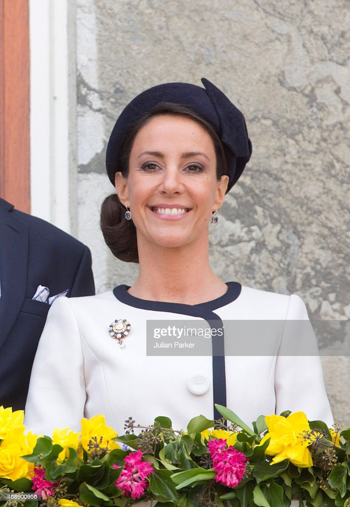 Festivities In Aarhus, Denmark, For The Forthcoming 75th Birthday Of Queen Margrethe II Of Denmark : News Photo