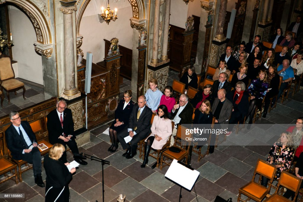 Princess Marie Of Denmark Participates In Dan Church's Christmas Event For The World's Poorest : News Photo