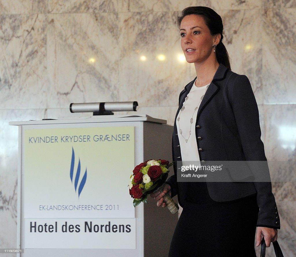 Princess Marie Of Denmark attends the ErhvervsKvinders Landskonference 2011 at Hotel des Nordens on April 9, 2011 in Harrislee, Germany.
