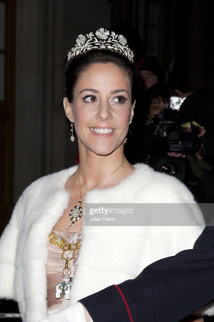 Danish Royal New Year Gala Dinner - Copenhagen : News Photo