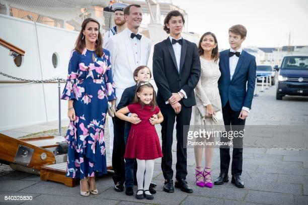 Princess Marie of Denmark, Prince Joachim of Denmark, Prince Henrik of Denmark, Princess Athena of Denmark, Prince Nikolai of Denmark, Countess...