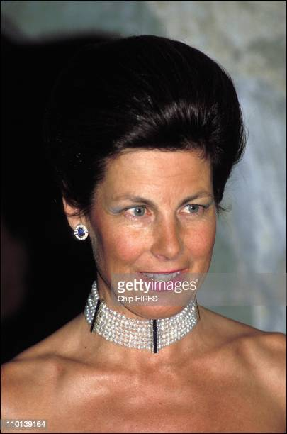 Princess Marie of Liechtenstein in Liechtenstein on August 14 1986