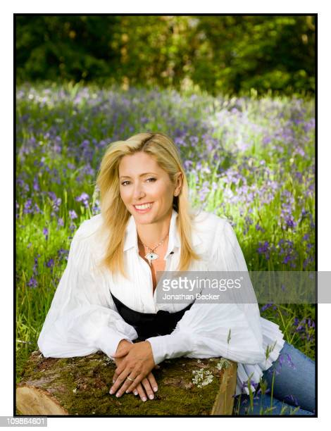 Princess MarieChantal is photographed at her home 'Beale House' for Vanity Fair Spain on May 23 2009 in West Sussex England Published image