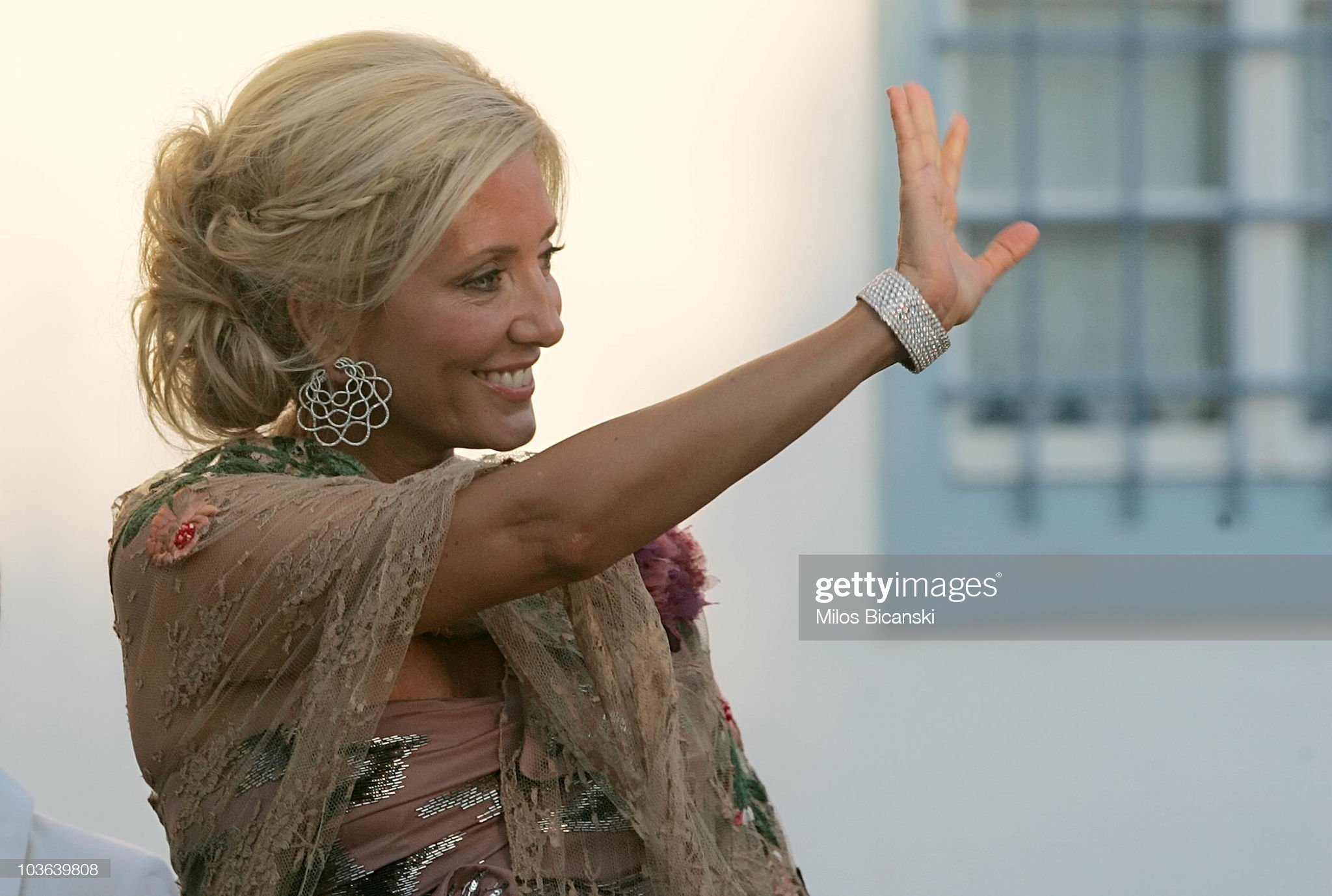 Wedding of Prince Nikolaos and Miss Tatiana Blatnik - Wedding Service : News Photo