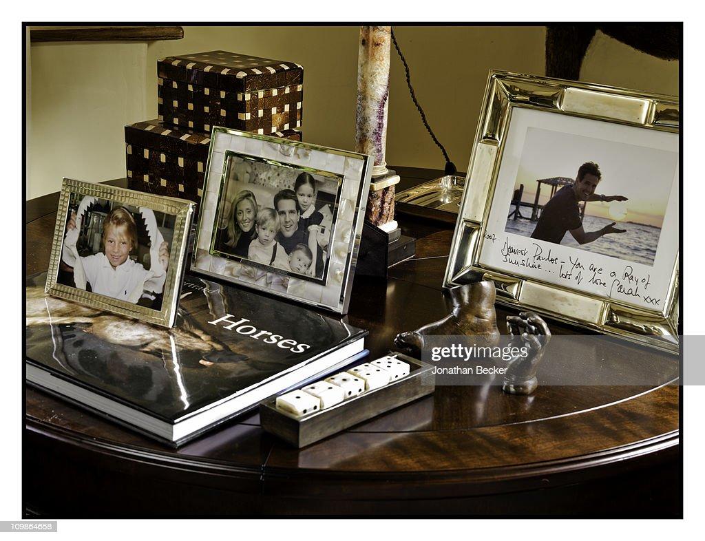Princess Marie-Chantal and Family, Vanity Fair - Spain, November 1, 2009 : News Photo