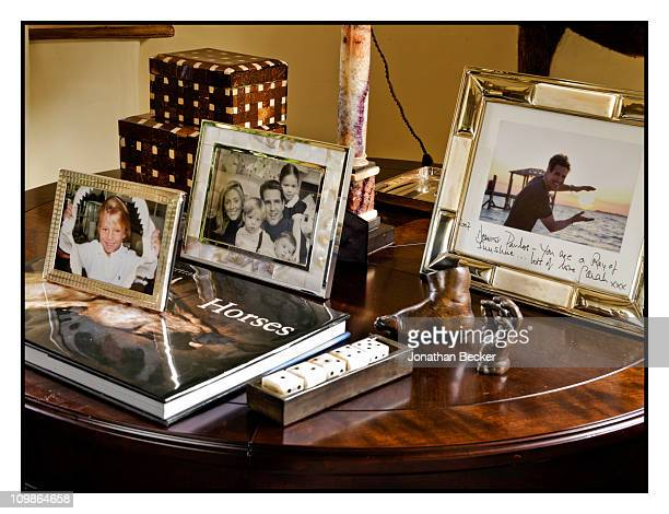 Princess MarieChantal's personal photos are photographed at her home 'Beale House' for Vanity Fair Spain on May 23 2009 in West Sussex England...