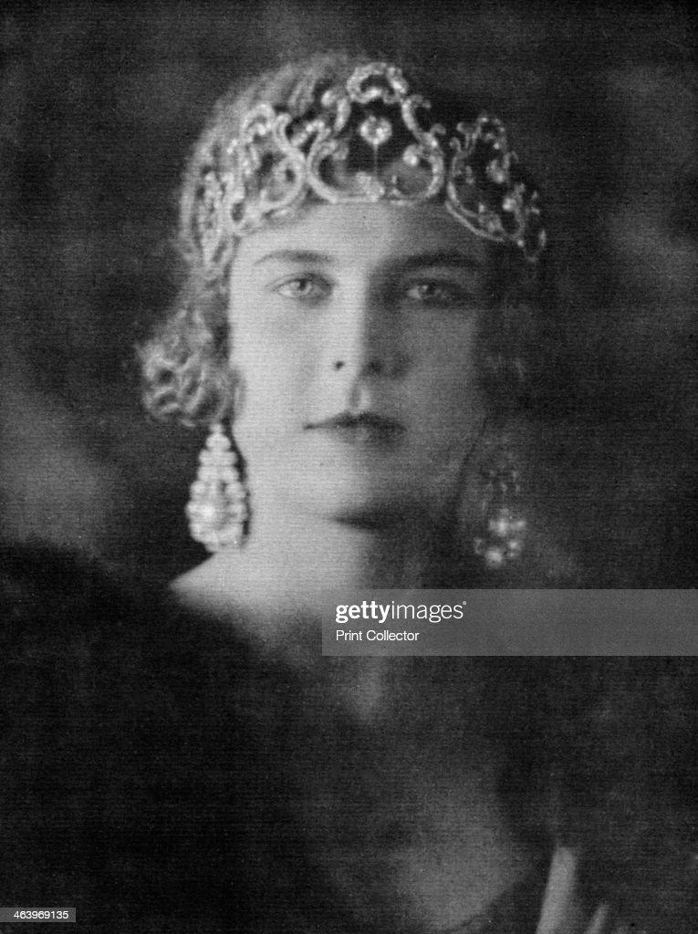 Princess Marie-José of Belgium (1906-2001), queen of Italy, 1920-1939. : ニュース写真