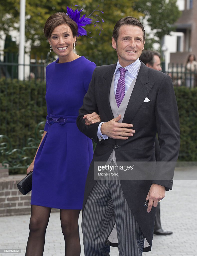HRH Prince Jaime De Bourbon Parme Marries Viktoria Cservenyak : News Photo