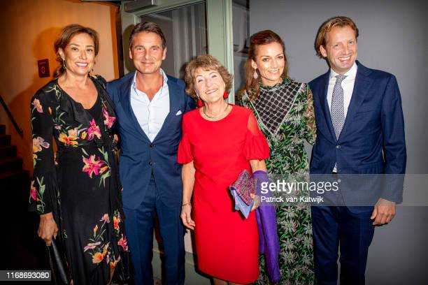 Princess Marilene of The Netherlands Prince Maurits of The Netherlands Princess Margriet of The Netherlands Princess Aimee of The Netherlands and...