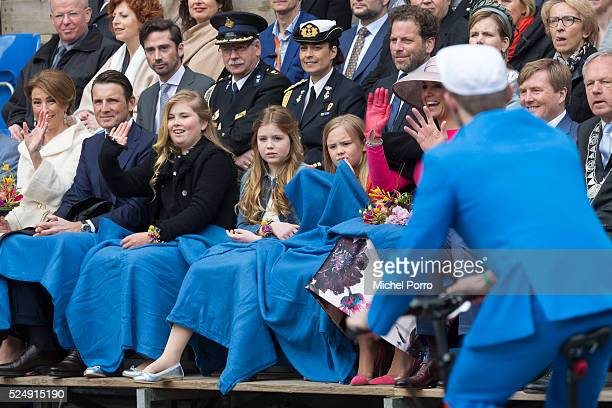 Princess Marilene Prince Maurits Princess CatharinaAmalia Princess Alexia Princess Ariane Queen Maxima and King WillemAlexander of The Netherlands...