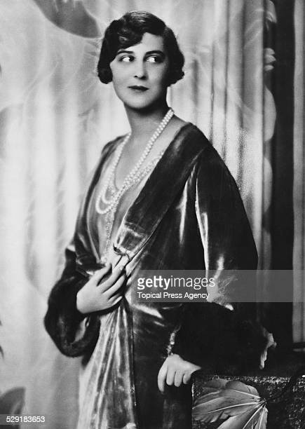 Princess Marina of Greece and Denmark, August 1934. She became Duchess of Kent in November 1934 on her marriage to Prince George, Duke of Kent.