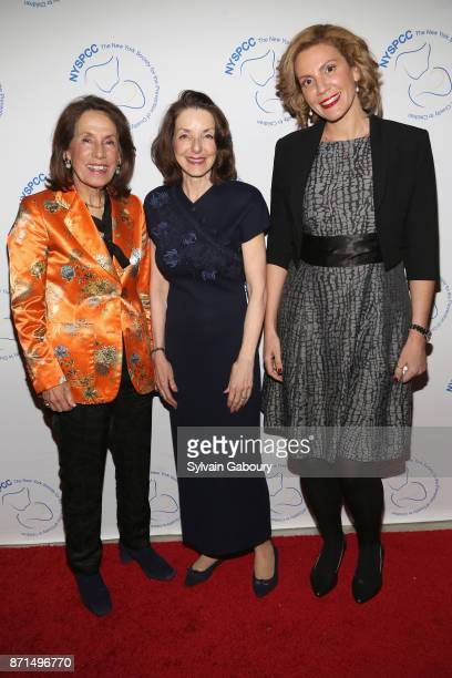 Princess Marina of Greece Dr Mary L Pulido and Afroditi Stathi attend The New York Society for the Prevention of Cruelty to Children 2017 Food Wine...