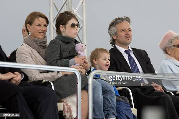 Princess Martha Louise, And Husband Ari Behn, With Their Daughters, Maud Angelica, And Emma Tallulah Attend A Concert At Oslo Opera House To...