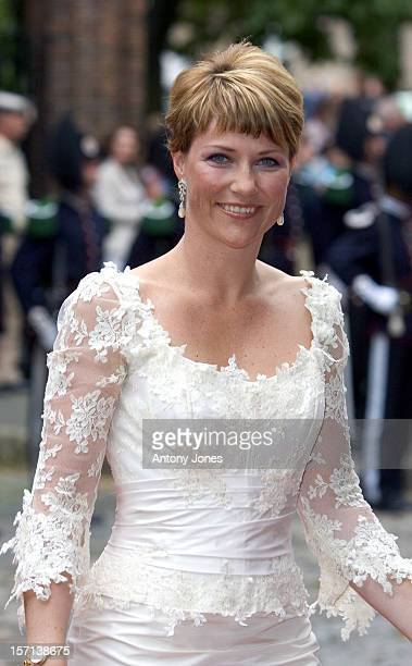 Princess Martha Louise Attends The Celebrations In Trondheim For The Centennial Anniversary Of King Haakon Vii Queen Maud'S Coronation Which Took...