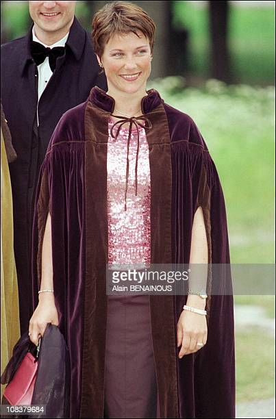 Princess Martha Louise in Sweden on June 18 2001