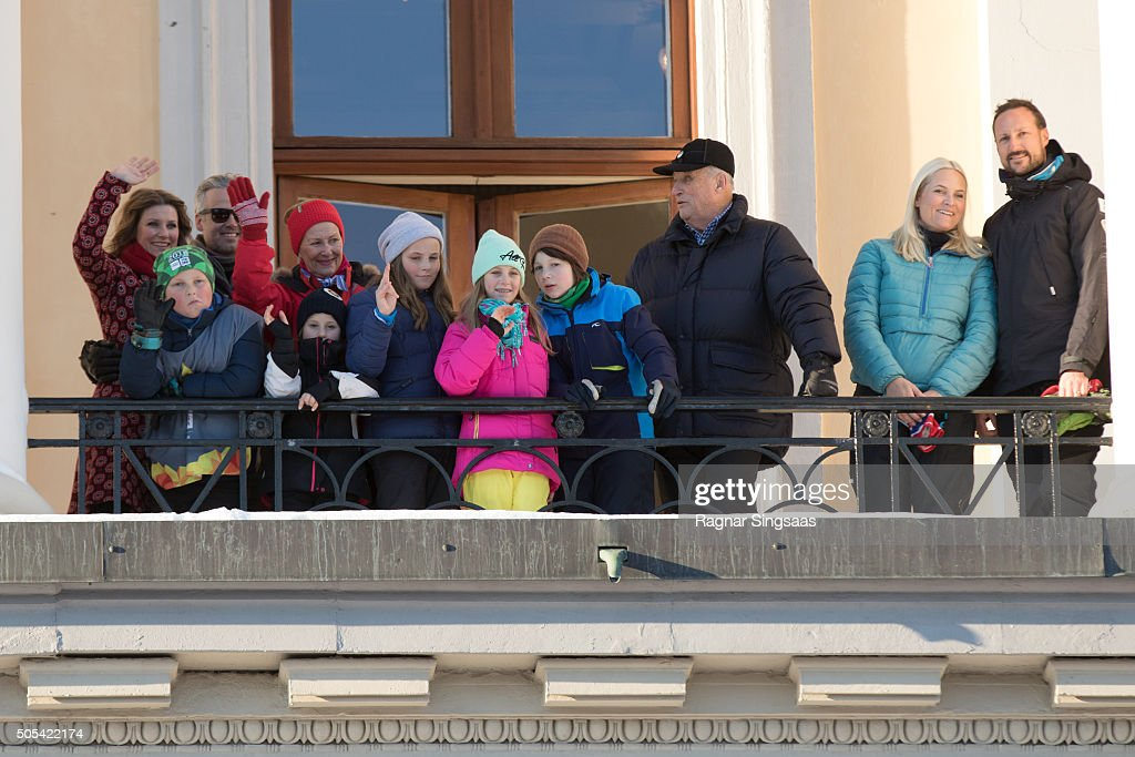 Norwegian Royals 25th Anniversary Celebrations : News Photo