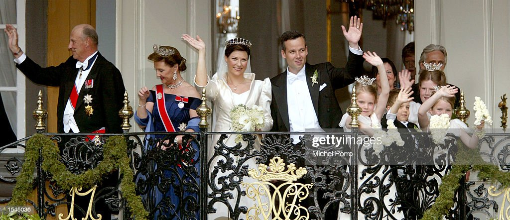 Norwegian Royal Wedding : News Photo