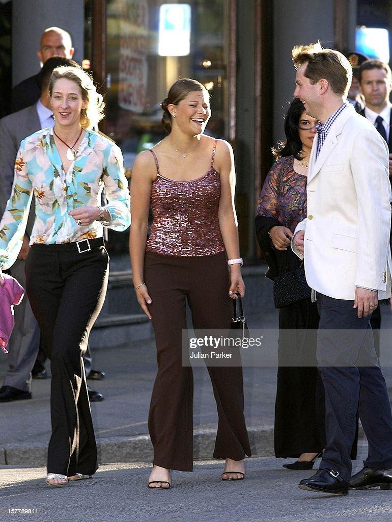 The Wedding Of Princess Martha Louise Of Norway & Ari Behn. : News Photo