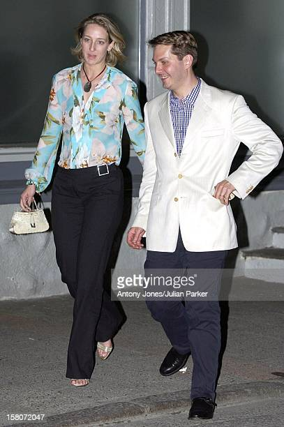 Princess Martha Louise Of Norway Ari Behn Attend A Dinner For Thier Friends At Bolgen Moi Restaurant Trondheim TwoDays Before Their Wedding 'Princess...