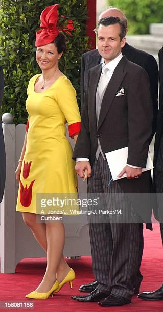 Princess Martha Louise Of Norway Ari Behn Attend The Wedding Of Crown Prince Felipe Of Spain Letizia Ortiz Rocasolano In Madrid