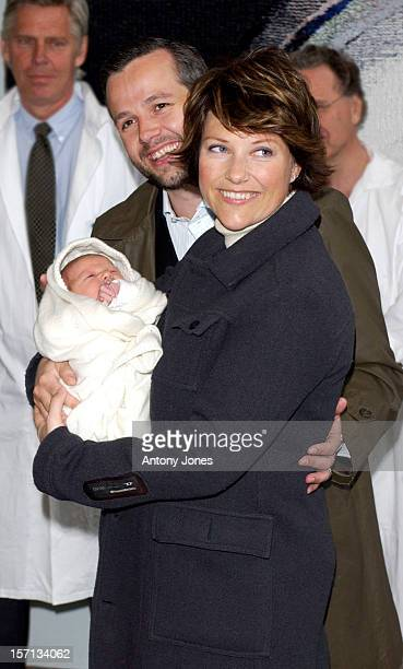 Princess Martha Louise Of Norway Ari Behn Leave The Riks Hospital In Oslo With Their New Baby Daughter Maud Angelica