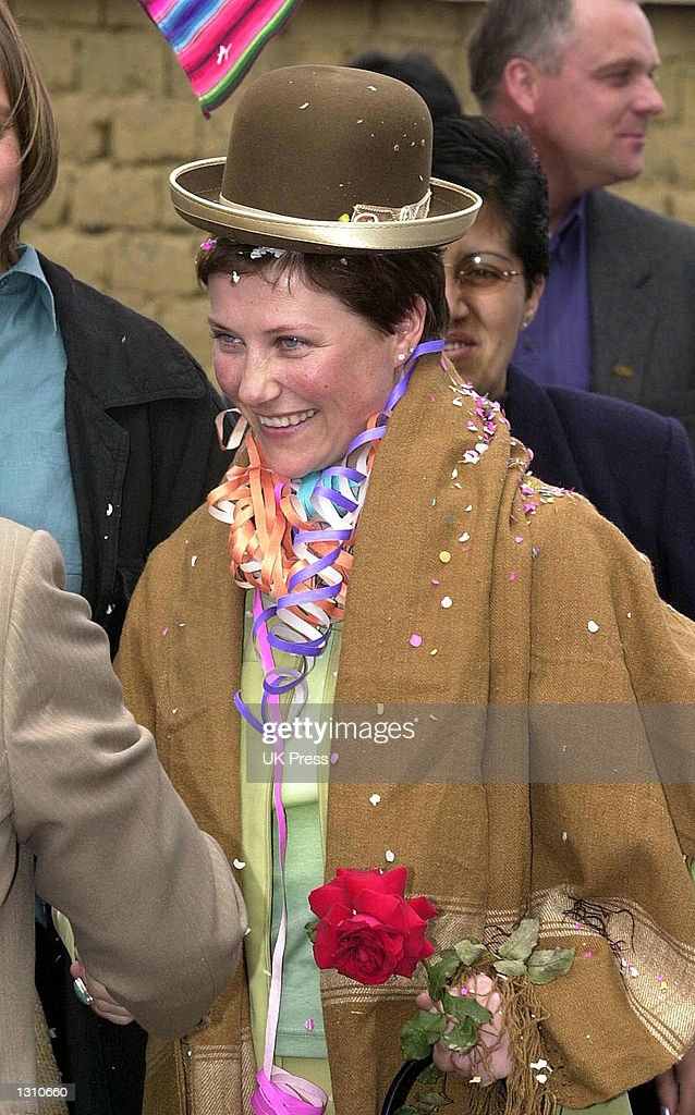 Princess Martha Louise Visits Bolivia : News Photo