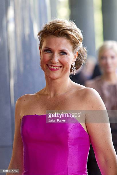 Princess Martha Louise Of Norway Arrives For A Concert At The Concertgebouw In Amsterdam To Celebrate Crown Princess Maxima Of Hollands 40Th Birthday...