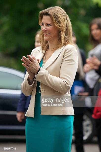 Princess Martha Louise of Norway attends The Launch Of The Unicef report 'State Of The world's Children' on May 30 2013 in Oslo Norway