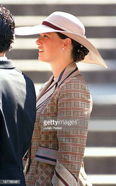 Princess Martha Louise Of Norway Attends The Wedding Of Infanta Cristina Of Spain And Inaki Urdangarin At Barcelona Cathedral
