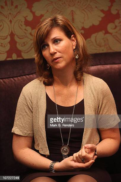 Princess Martha Louise of Norway is pictured during an interview with the Belgian newspaper Het Nieuwsblad at Grand Hotel Casslbergh on November 5...