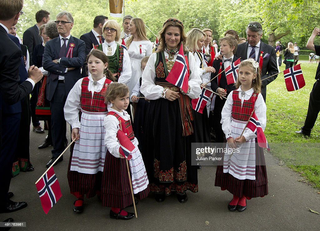 Norway National Day Is Celebrated In London : News Photo