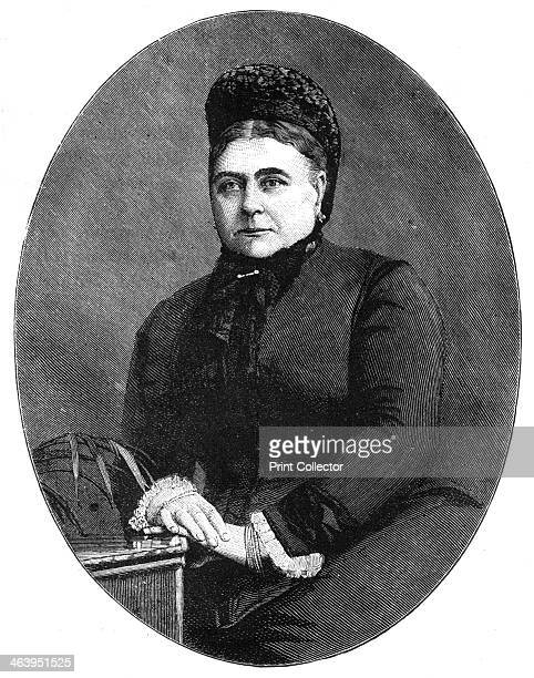 Princess Mary Adelaide Duchess of Teck The mother of Queen Mary of Teck Engraving from a photograph Illustration from The Life Times of Queen...