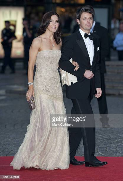 Princess Mary And Prince Frederik At The Stockholm Concert Hall For A Gala Performance In Stockholm Sweden