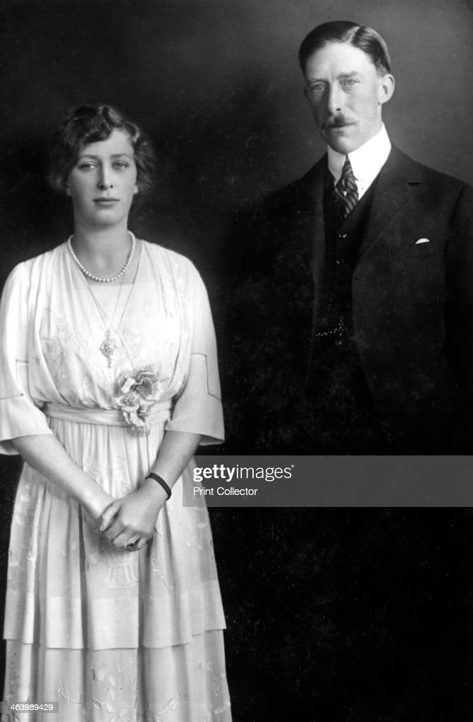 Princess Mary (1897-1965) and Viscount Lascelles (1882-1947), c1920s. : News Photo