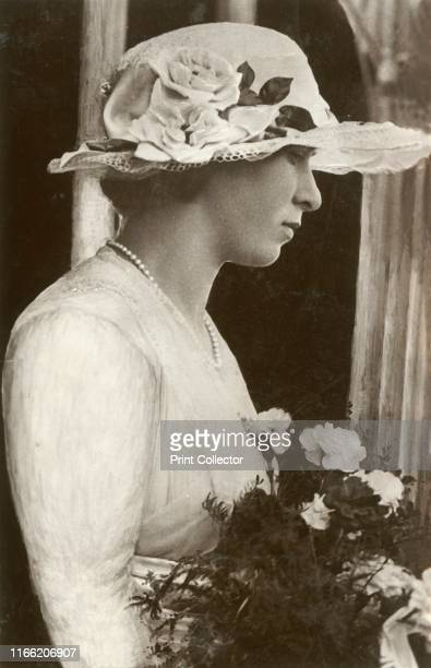 Princess Mary', circa 1920s. Portrait of Mary, Princess Royal , the third child and eldest daughter of King George V and Mary of Teck. Postcard....