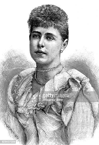 Princess mary duchess of gloucester and edinburgh 1776 1857 historical illustration circa 1893