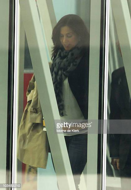 Princess Mary of Denmark arrives at Adelaide Airport on August 20 2010 in Adelaide Australia Princess Mary is in Adelaide visiting longtime friend...