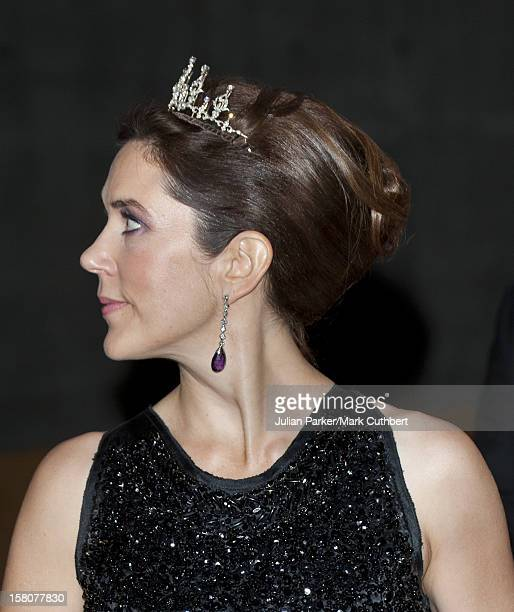 ** ** Princess Mary Of Denmark At A Gala Performance In The Dr Concert Hall To Celebrate 40 Years On The Throne Of Queen Margrethe Ii Of Denmark In...