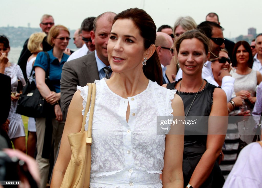 Princess Mary of Denmark attends a BBQ with special guests at Garden Island on November 20, 2011 in Sydney, Australia. Princess Mary and Prince Frederik are on their first official visit to Australia since 2008. The Royal visit begins in Sydney, before heading to Melbourne, Canberra and Broken Hill.