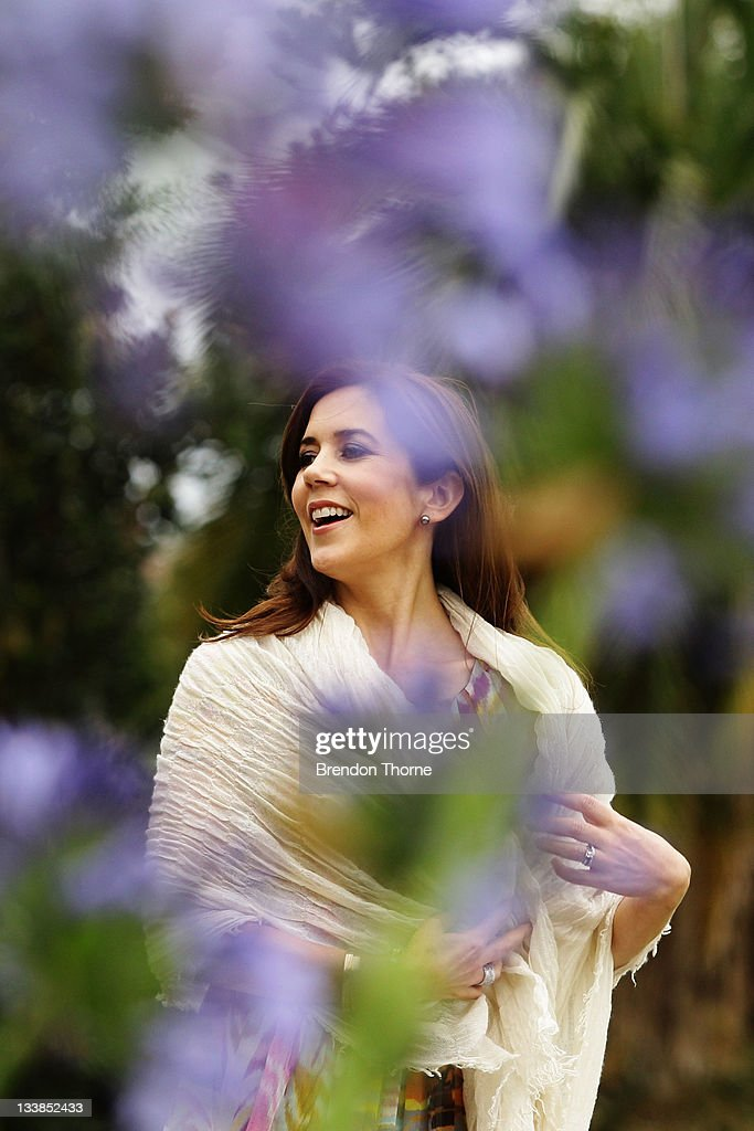 Princess Mary of Denmark walks the gardens of Government House during her visit to Australia on November 21, 2011 in Sydney, Australia. Princess Mary and Prince Frederik are on their first official visit to Australia since 2008. The Royal visit begins in Sydney, before heading to Melbourne, Canberra and Broken Hill.