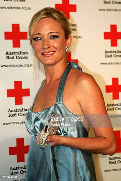 Princess Mary of Denmark's Australian best friend Amber Petty attends the Australian Red Cross 90th Anniversary Gala at the Westin Hotel March 2 2005...