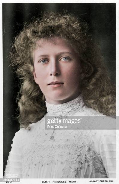 Princess Mary of the United Kingdom, c1910s. Princess Mary was the third child and eldest daughter of King George V and Mary of Teck. .Artist Rotary...